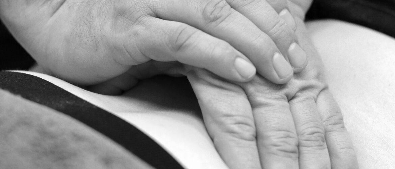 Fysioterapi på patient